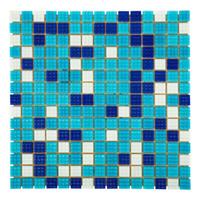 Мозаика стеклянная Mix Bahama темная А20N