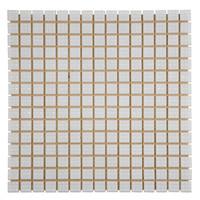 Мозаика стеклянная одноцветная Белый А20N(1)