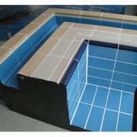Плитка керамическая Aquaviva чёрная (С512Е) 240х115 мм