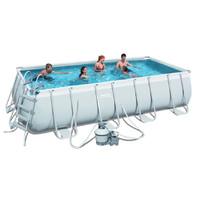 Каркасный прямоугольный бассейн Bestway 56471 (671х366х132) с песочным фильтром
