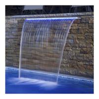 Стеновой водопад Aquaviva PB 900-150(L) с LED подсветкой