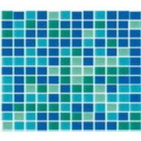Мозаика стеклянная Mix зеленый B2316N